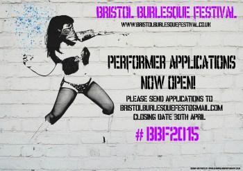 Bristol Burlesque Festival 2015 Applications are now OPEN!